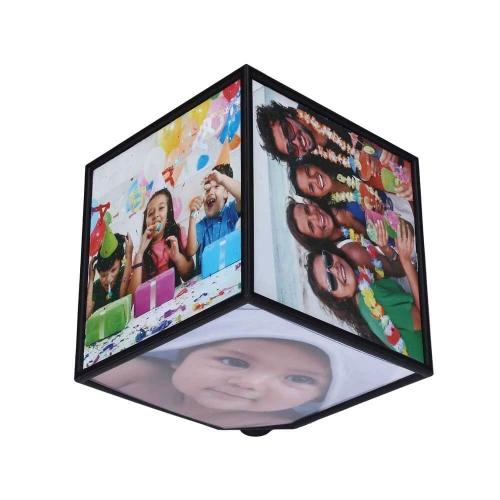 Rotating Photo Cube 9