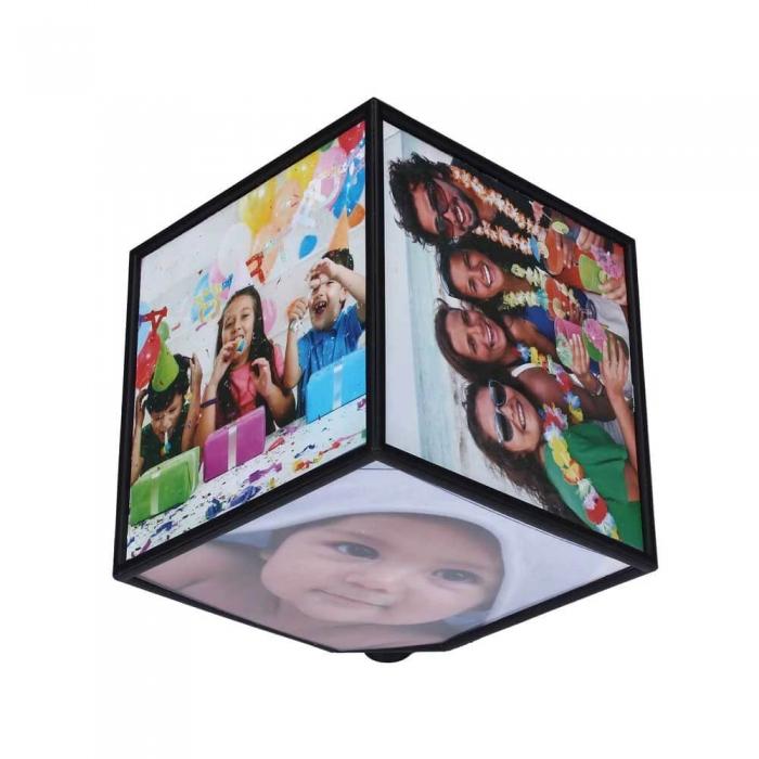 Rotating Photo Cube 1