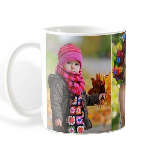White Photo Mug 6