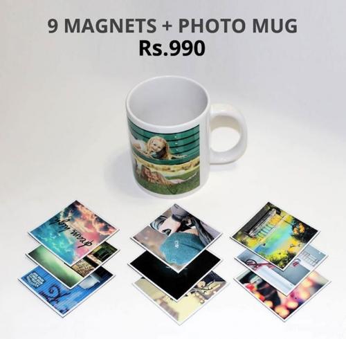 DEAL :: 9 Magnets + 1 Mug 12