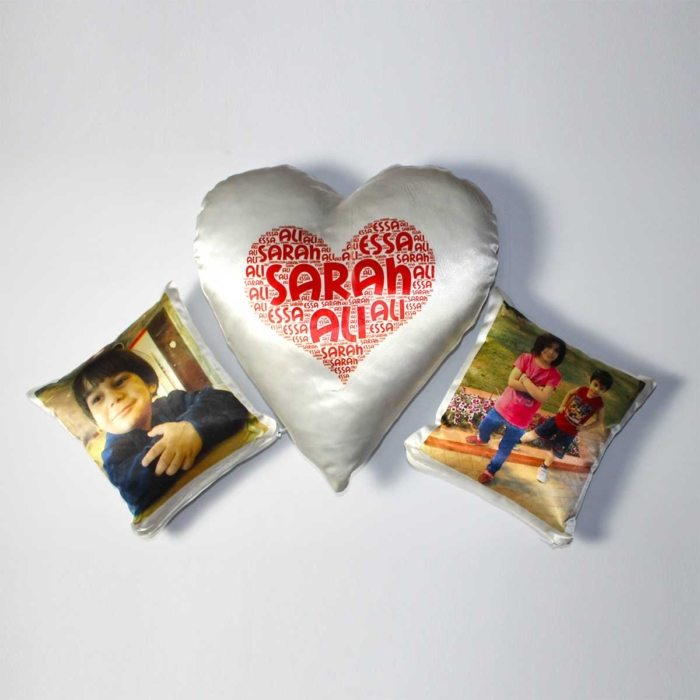 DEAL :: Heart & Mini Cushion 1